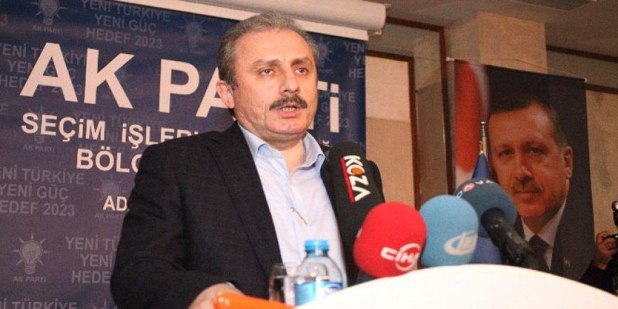 Mustafa Şentop Yeni Anayasa İçin Partilere Seslendi