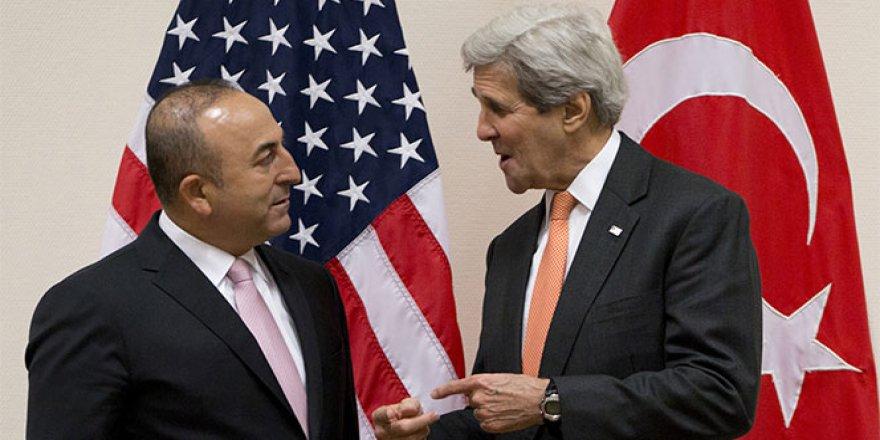 Kerry ve Çavuşoğlu'ndan Suriye görüşmesi