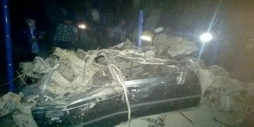 Kayseri'de İki Kardeşin Otomobil Macerası Feci Bitti