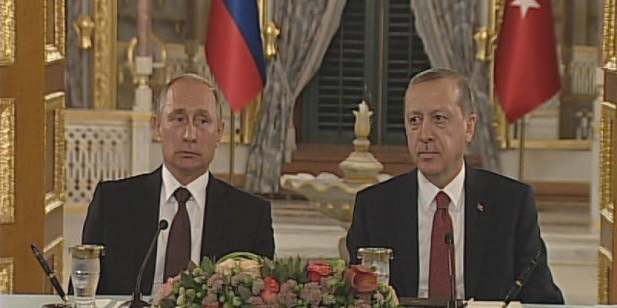 Türkiye ve Rusya'dan Türk Akımı Anlaşması