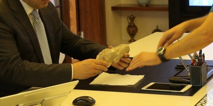Kayseri'de 9 milyon yıllık zürafa fosili bulundu!