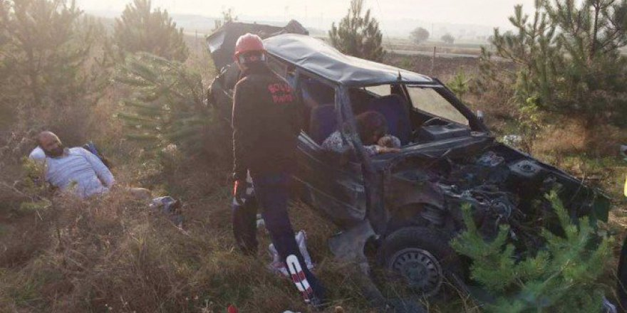 Bolu'da Korkunç Trafik Kazası: 4 Yaralı