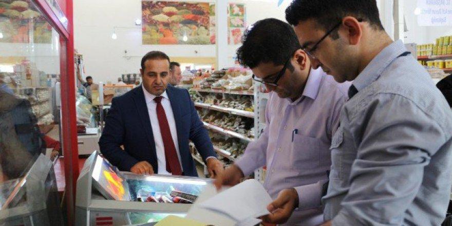 Harran'da Mülteci Kampında Gıda Denetimi