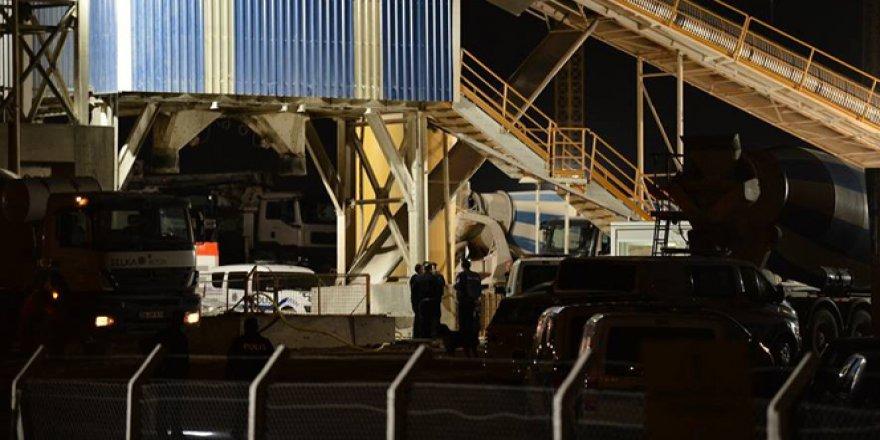 Eskişehir'de beton karma makinesine sıkışan işçi hayatını kaybetti