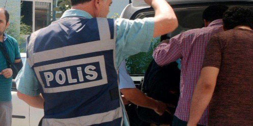 Kütahya, Gediz'deki FETÖ Operasyonunda 7 Tutuklama