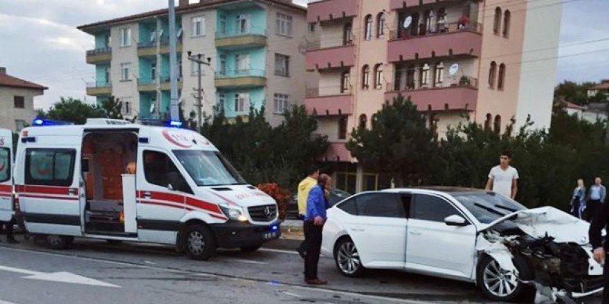 Çorum, Sungurlu'da Trafik Kazası: 5 Yaralı