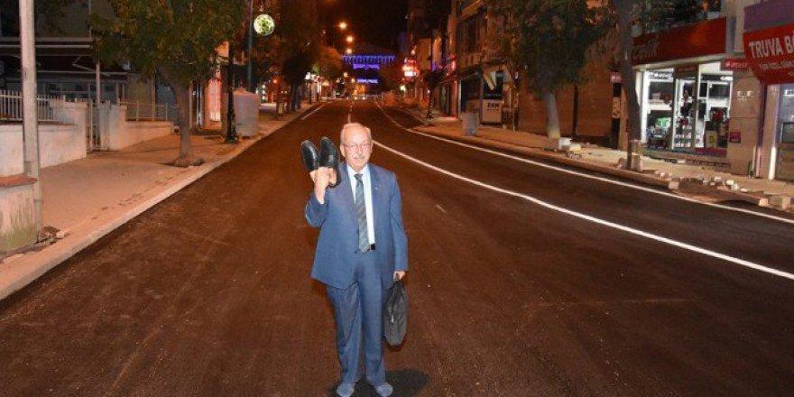 Çorapla Gezen Chp'li Başkan Albayrak'a Ak Partili Başkan Yüksel'den Videolu Cevap
