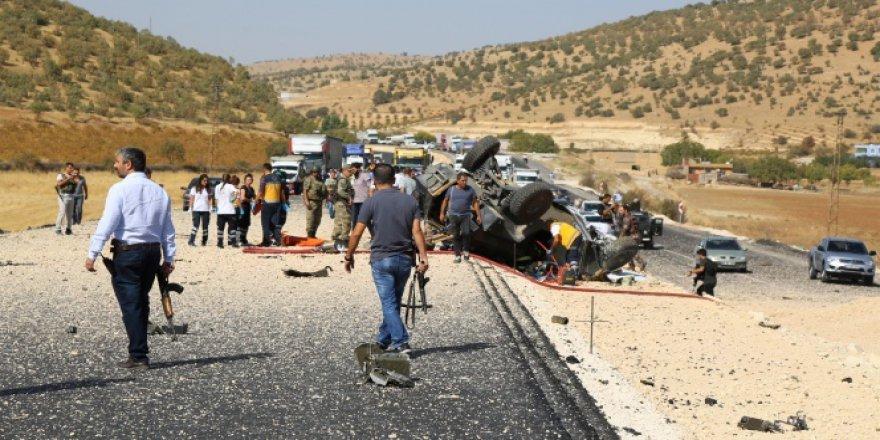 Mardin'deki saldırıda 500 kilogram patlayıcı kullanılmış