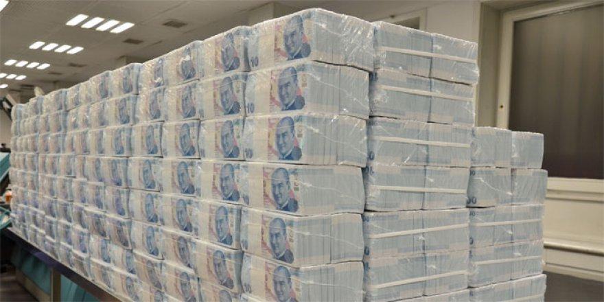 Toplam kredi stoku 1,9 trilyon lira