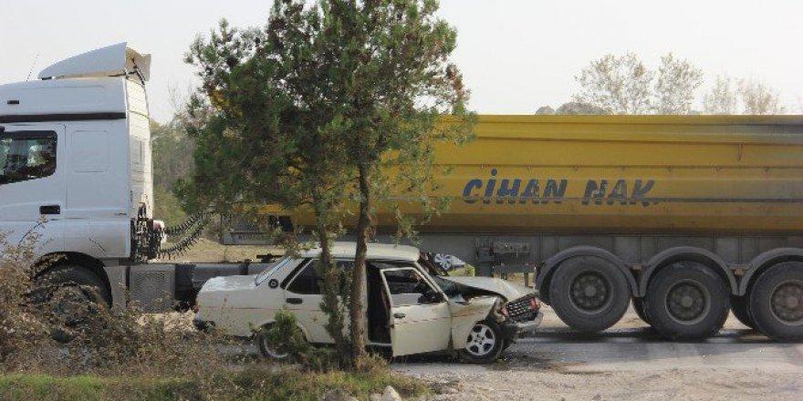 Edirne'de Korkutan Trafik Kazası: 2 Yaralı