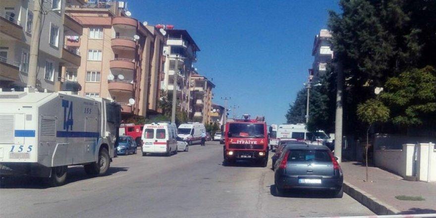Gaziantep'te Hücre evinde patlama! Yaralı polisler var
