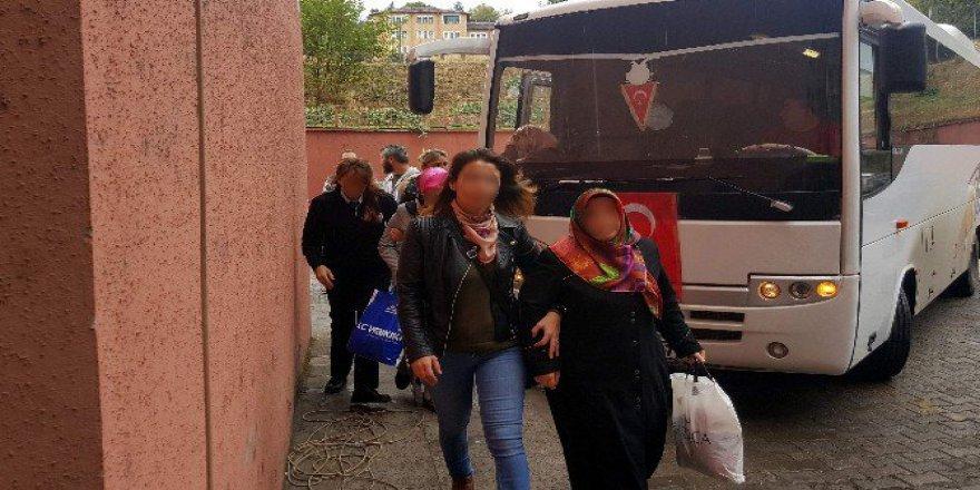 Karabük'te FETÖ'den 11 Kişi Adliyeye Sevk Edildi