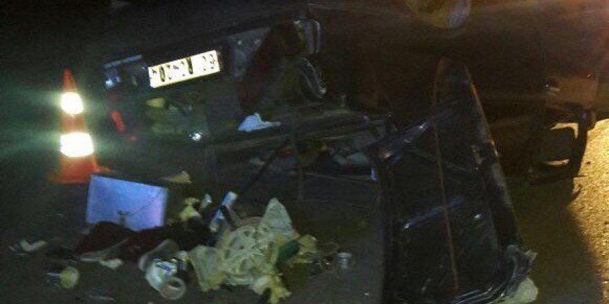 Çorum, Sungurlu'da Trafik Kazası: 2 Yaralı