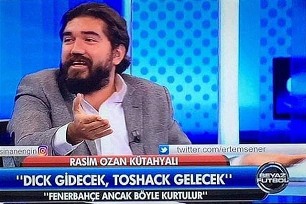 Rasim Ozan ve Beyaz TV Fenerbahçelileri çileden çıkarttı!