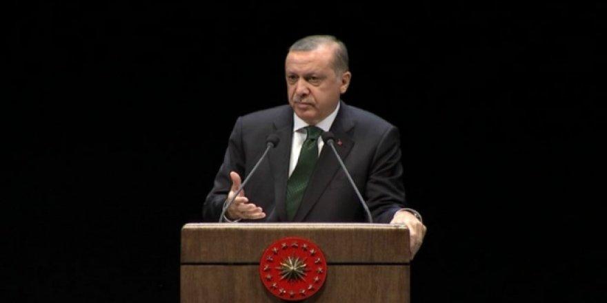 Erdoğan Misak-ı Milli'ye işaret etti