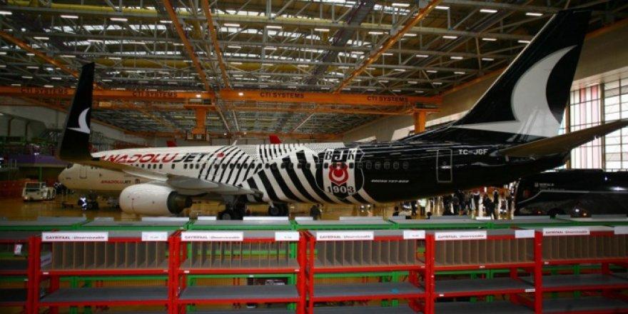 THY'den Beşiktaş'a özel uçak!