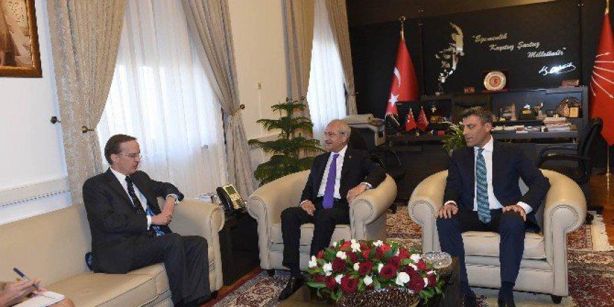Kemal Kılıçdaroğlu, Fransa Büyükelçisi Fries İle Görüştü