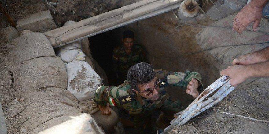 İşte DAEŞ'in Musul'daki Tünelleri!