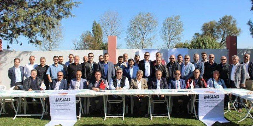 Bursa'da İMSİAD Sanayici-Müteahhit Buluşmaları Başladı