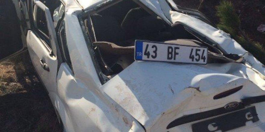 Eskişehir'de Otomobil Takla Attı: 1 Yaralı