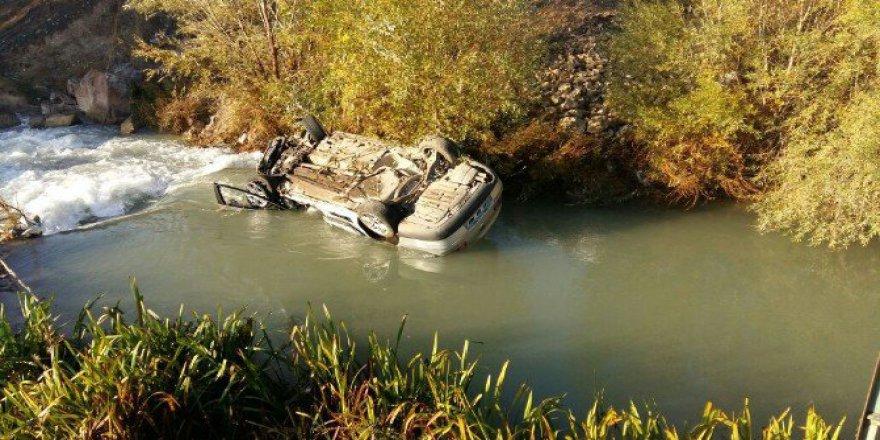 Malatya'da Otomobil Tohma Çayı'na Düştü: 1 Ölü