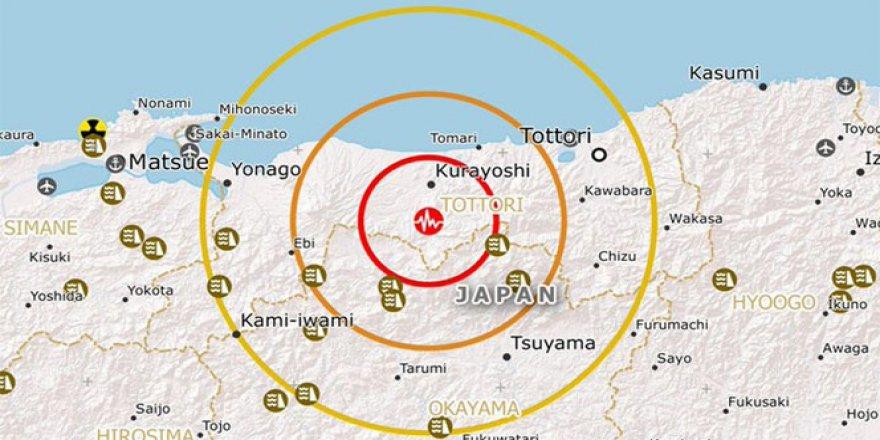 Japonya 6.2'lik depremle sarsıldı