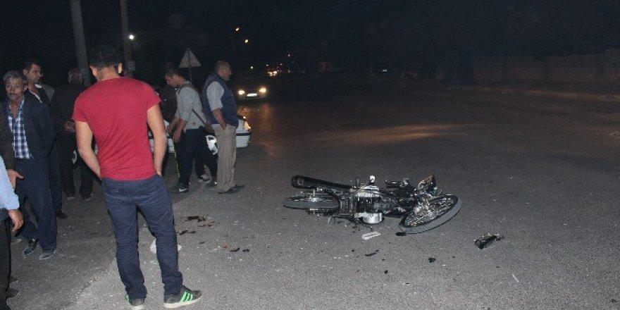 Adıyaman'da Motosiklet İle Kamyonet Çarpıştı: 1 Yaralı
