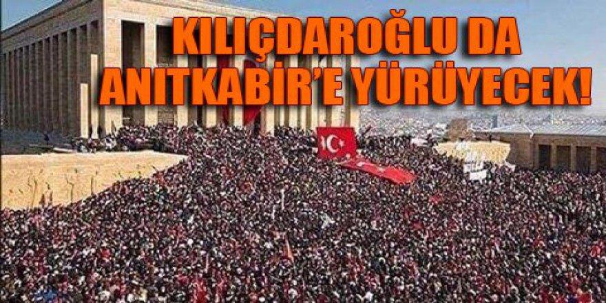 CHP'den 'Büyük Cumhuriyet Yürüyüşü'