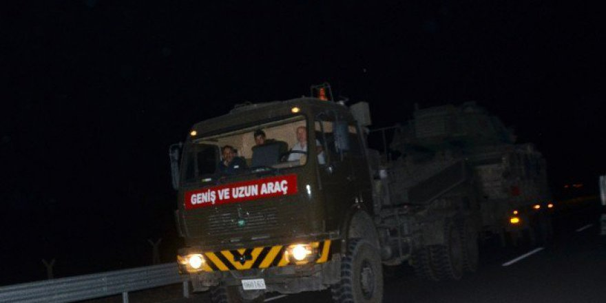 Ankara ve Çankırı'dan Yola Çıkan Askeri Konvoy Mardin'i Geçti