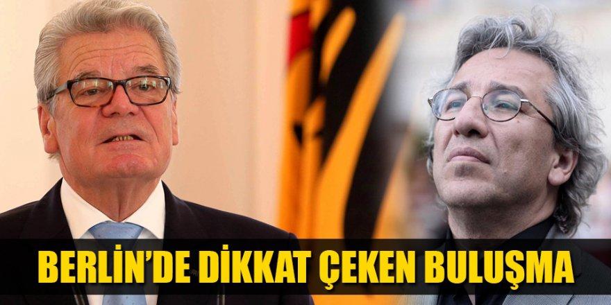 Almanya'da dikkat çeken görüşme!