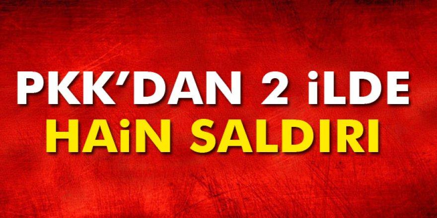 PKK'dan Derik'e ve Şırnak Belediyesine Hain Saldırı!