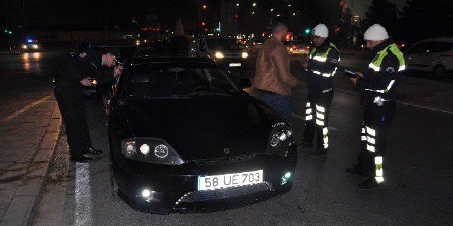 Sivas'ta Genel Asayiş Ve Trafik Uygulaması