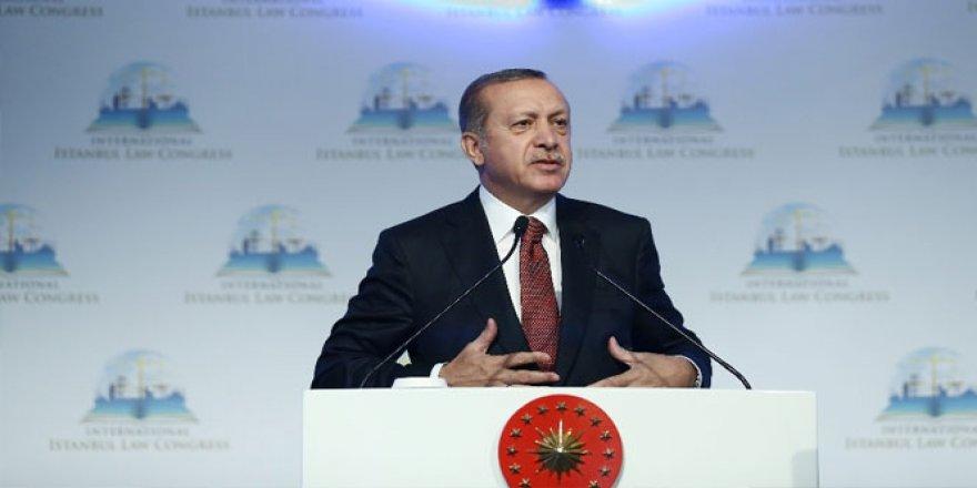 Erdoğan: 'Biz sırtımızı Hakk'a ve halka dayıyoruz'