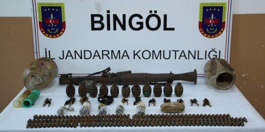 Bingöl'de PKK'ya Ait Sığınak Ele Geçirildi