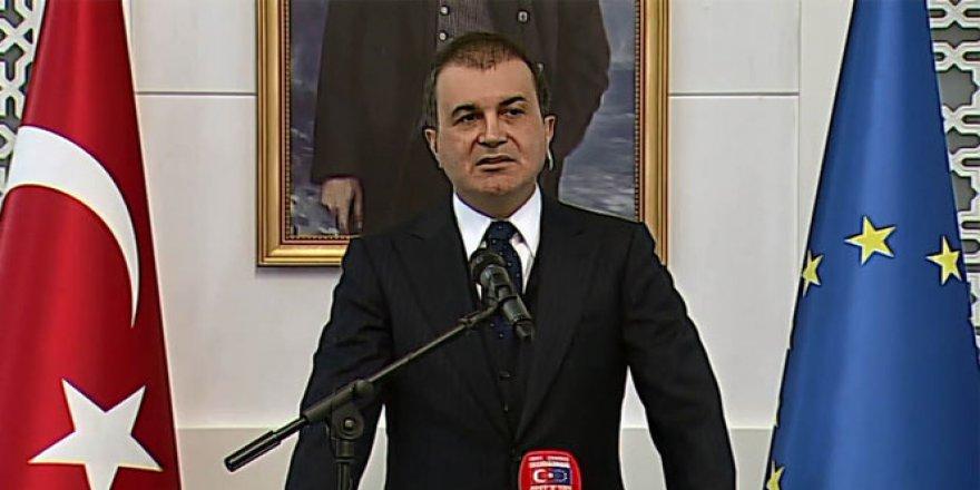 Türkiye'den AB'nin raporuna sert tepki
