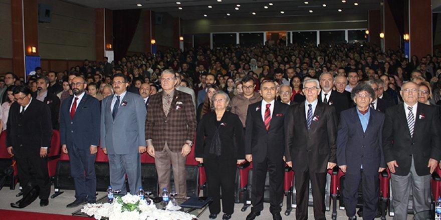 İAÜ'de Atatürk'ü Anma Töreni düzenlendi