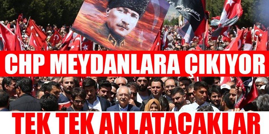 CHP Meydanlara Çıkma kararı Aldı!