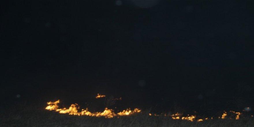 Tekirdağ, Malkara'da korkutan yangın