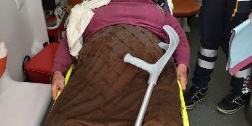 Nazilli'de Yaşlı Kadını Ellerini Bağlayarak Gasp Etmeye Yeltendiler
