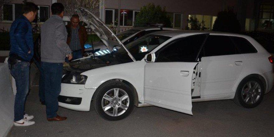 Karaman'da Şüpheli Olarak Aranan Otomobilde Ruhsatsız Tabanca Ele Geçirildi