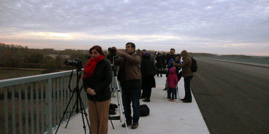Süper Ay Edirne'de Yüzünü Göstermedi