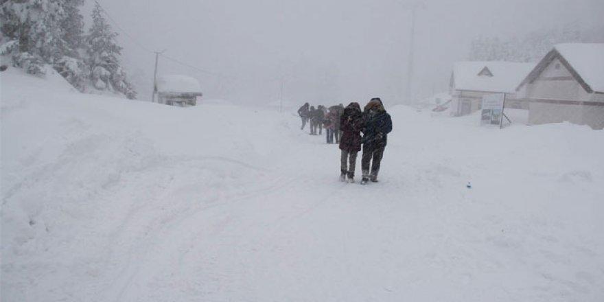 Dikkat: Kar Geliyor! İşte uyarı verilen yerler