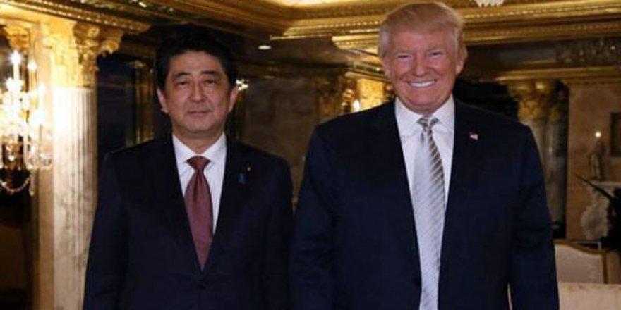 İşte Trump'ın ilk görüştüğü lider ''Shinzo Abe''