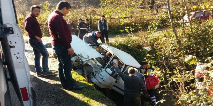 Bartın, Kozcağız'da Trafik Kazası: 4 Yaralı