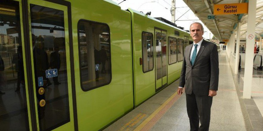 Yıldırım Metrosu 2017'de Start Alacak