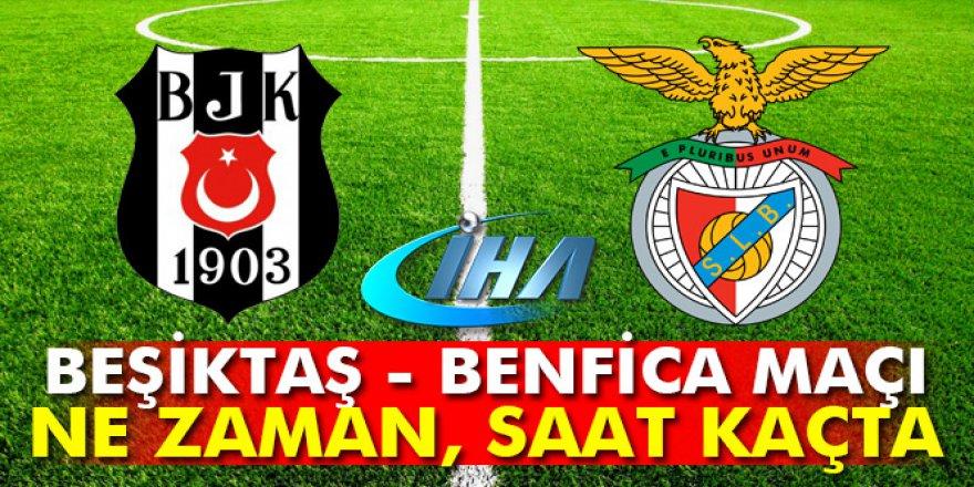 Beşiktaş-Benfica maçı ne zaman, saat kaçta, hangi kanalda?