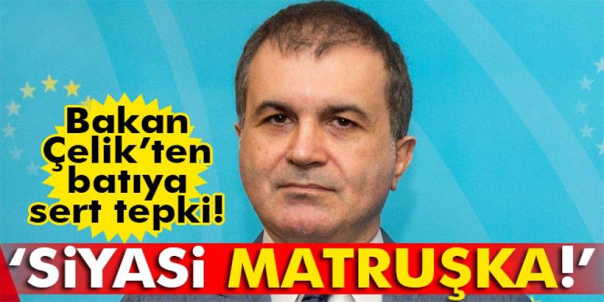 Avrupa Birliği Bakanı Ömer Çelik AP'nin Kararını Değerlendirdi