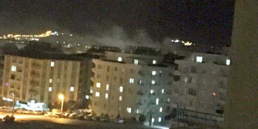 Gaziantep Yeditepe Mahallesi'nde şiddetli patlama sesi