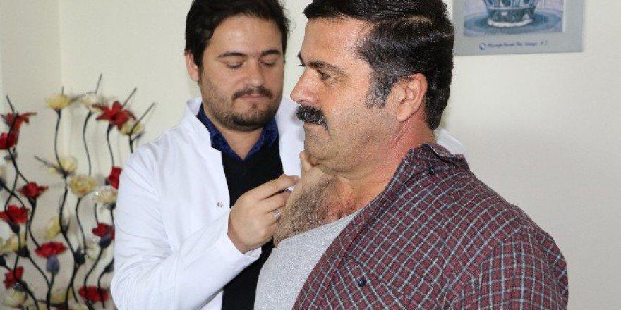 Adıyaman'da Sağlık Çalışanlarına Grip Aşısı Yapıldı