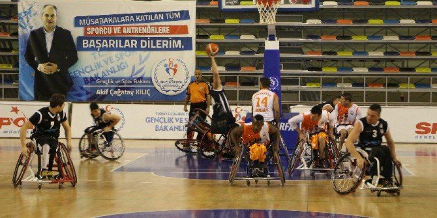 Tekerlekli Sandalye Basketbol Süper Lig'de, Beşiktaş 68-39 Şanlıurfa Büyükşehir Belediyesi